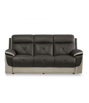 Jack Leather 3 Seater Recliner