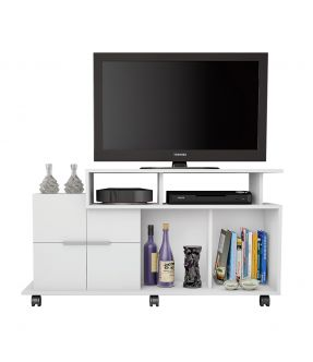 Rosanna - Made in Brazil - TV Entertainment Unit with Cabinet for 40 INCH TV- Floor stock