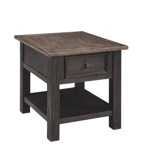 Tracy Traditional Rectangular Side Table