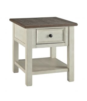 Watsonia Vintage Farmhouse Style Side Table
